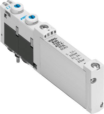 Распределитель с электроуправлением Festo VUVG-B10-P53C-ZT-F-1T1L