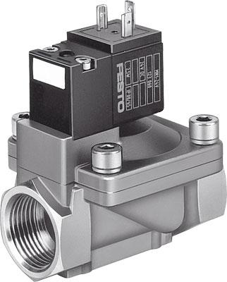Клапан с электроуправлением Festo MN1H-2-1/2-MS