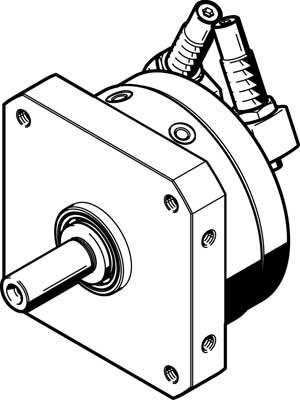 Неполноповоротный привод Festo DSM-16-270-CC-A-B