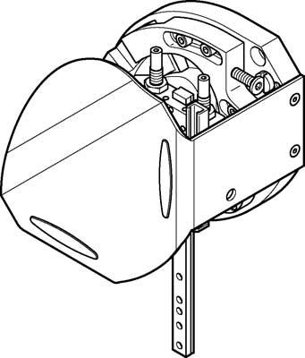Модуль перемещения Festo HSW-12-AS-SD