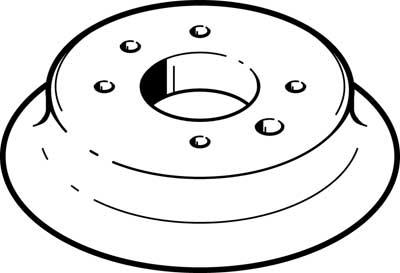 Присоска вакуумная стандартная круглая Festo ESV-150-SS