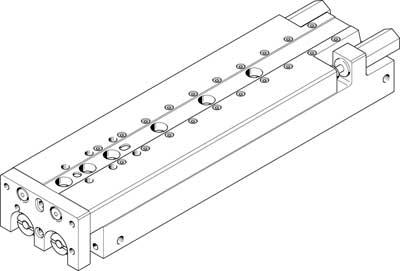 Мини-суппорт Festo SLT-16-150-A-CC-B