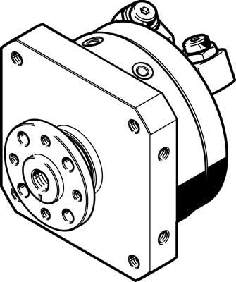 Неполноповоротный привод Festo DSM-25-270-P-FW-A-B