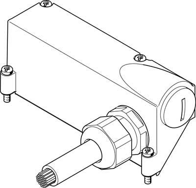 Соединительный кабель Festo VMPAL-KM-S-SD44-IP67-2.5
