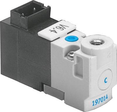 Распределитель с электроуправлением Festo MHP1-M4H-3/2O-M3-TC