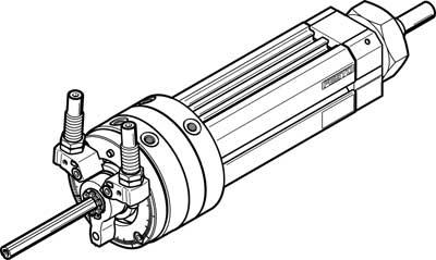 Поворотно-линейный модуль Festo DSL-40-100-270-CC-A-S2-KF-B
