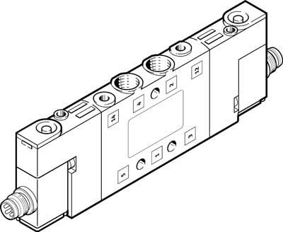 Распределитель с электроуправлением Festo CPE10-M1CH-5J-M7