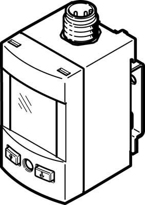 Датчик давления Festo SPAU-P10R-W-G18FD-L-PNLK-PNVBA-M8U