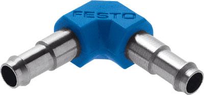 Фитинг ниппельный угловой Festo L-PK-4 (комплект 10 шт)