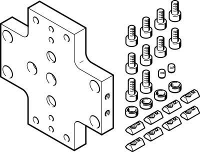 Комплект для перекрестных соединений Festo HMVK-DL25-DL18/25