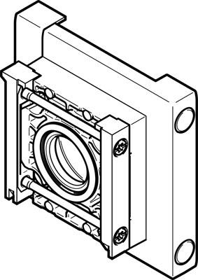 Соединитель модуля Festo MS6-9-AMV-EX