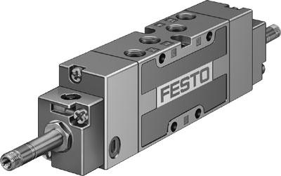 Распределитель с электроуправлением Festo MFH-5/3B-1/8-S-B