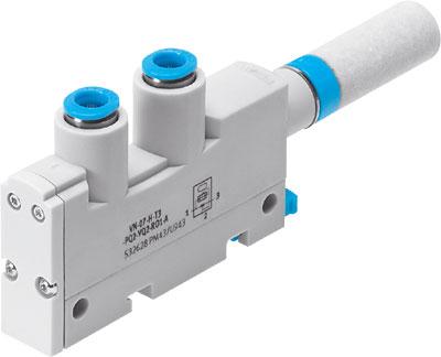 Эжектор базовый вакуумный пневматический Festo VN-05-L-T3-PQ2-VQ2-RO1-A