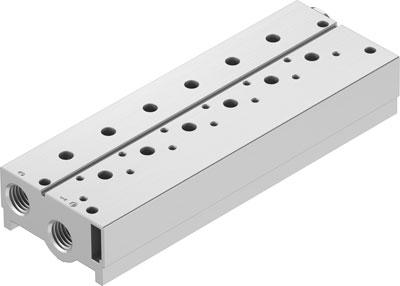 Плита для блочного монтажа Festo VABM-B10-25S-G38-6-P3
