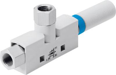 Эжектор базовый вакуумный пневматический Festo VN-10-H-T3-PI4-VI4-RO1
