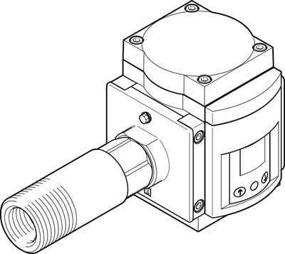 Датчик расхода Festo SFAM-90-5000L-TG1-2SV-M12