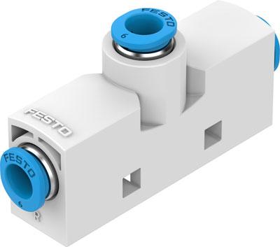 Эжектор базовый вакуумный пневматический Festo VN-10-H-T3-PQ2-VQ2-RQ2