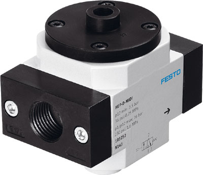 Отсечной клапан Festo HEP-1-D-MAXI