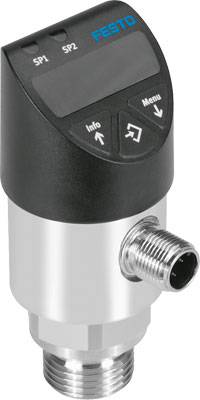 Датчик давления Festo SPAW-P16R-G12M-2PA-M12