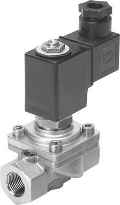 Клапан с электроуправлением Festo VZWF-B-L-M22C-G38-135-E-1P4-10-R1
