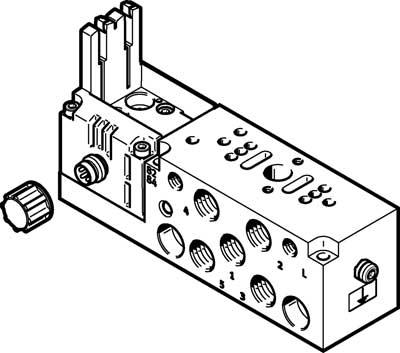 Монтажная плита Festo VMPA2-IC-AP-1-EX1E