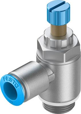 Дроссель с обратным клапаном Festo GRLA-1/2-QS-12-RS-D