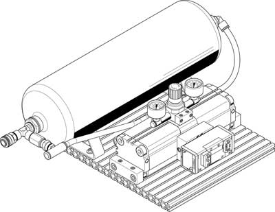 Усилитель давления Festo DPA-63-16-CRVZS20