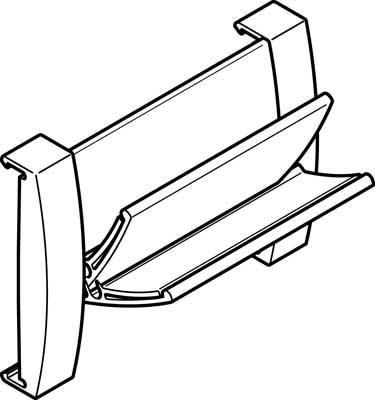 Панель для информационных табличек Festo CPVSC1-ST-4