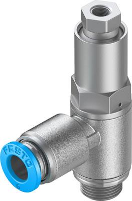 Управляемый обратный клапан Festo HGL-1/8-QS-6