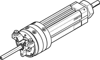 Поворотно-линейный модуль Festo DSL-40-80-270-P-A-S2-B