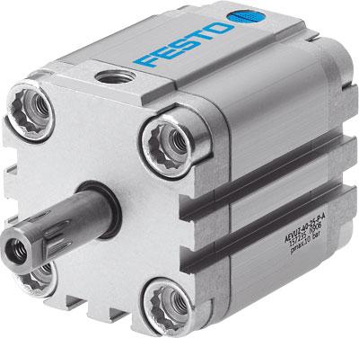 Компактный цилиндр Festo AEVUZ-32-10-P-A