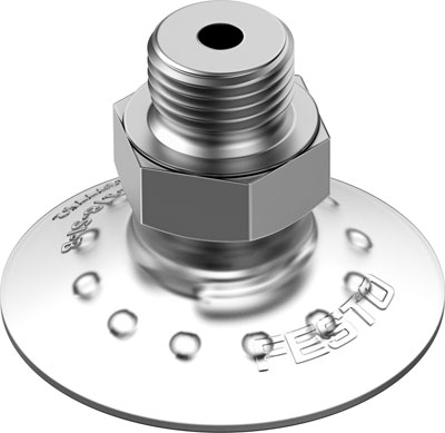 Захват вакуумный стандартный круглый Festo VAS-40-1/4-SI-B