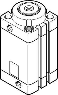 Стопорный цилиндр Festo DFSP-40-30-DF-PA