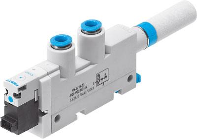 Эжектор базовый вакуумный электро-пневматический Festo VN-10-L-T3-PQ2-VQ2-RO1-M