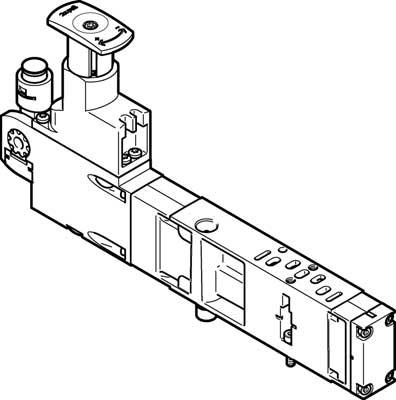 Блоки регуляторов Festo VABF-S4-2-R3C2-C-10