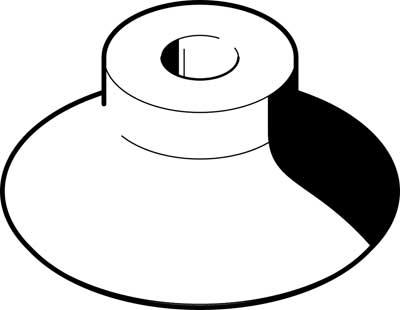 Присоска вакуумная в форме колокола Festo ESV-40-GT