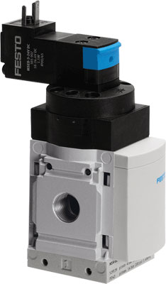 Клапан плавного пуска Festo MS6-DE-1/2-V110