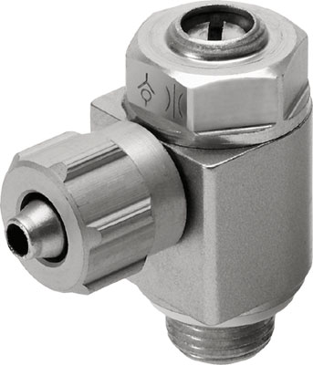 Дроссель с обратным клапаном Festo GRLA-1/8-PK-6-B