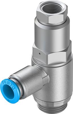 Управляемый обратный клапан Festo HGL-3/8-QS-8