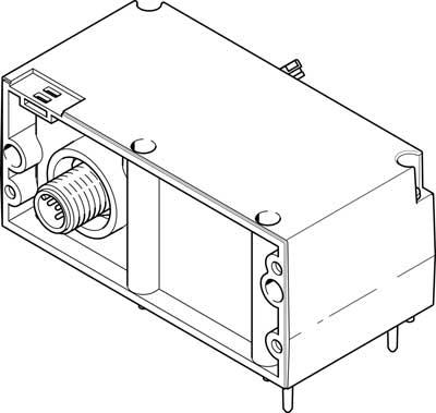 Электрический интерфейс Festo 574207 VAEM-L1-S-8-PTL