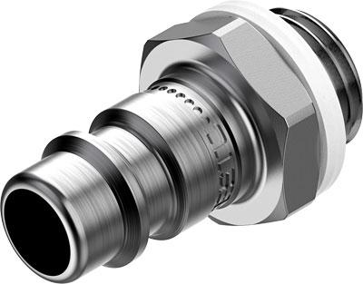 Быстроразъемный штекер Festo NPHS-S6-M-G14 (комплект 10 шт)