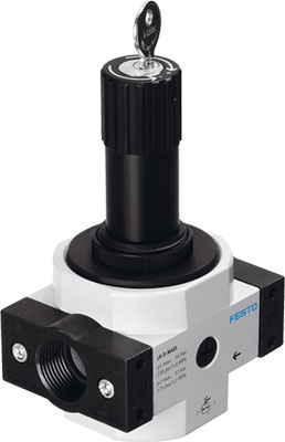 Регулятор давления Festo LRS-3/8-D-7-O-MINI