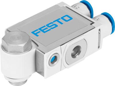 Дроссель с обратным клапаном Festo VFOF-LE-BAH-G18-Q6