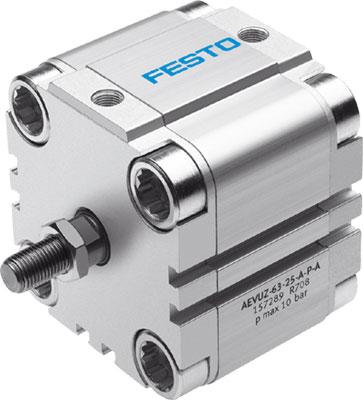 Компактный цилиндр Festo AEVUZ-80-25-A-P-A
