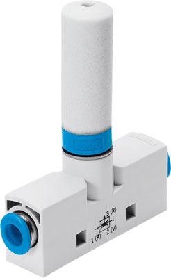 Эжектор базовый вакуумный пневматический Festo VN-07-M-T3-PQ2-VQ2-RO1