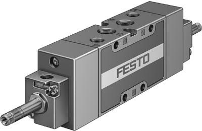 Распределитель с электроуправлением Festo JMFH-5-1/4-B