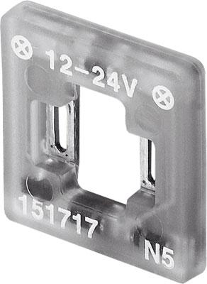 Светящаяся прокладка Festo MEB-LD-12-24DC