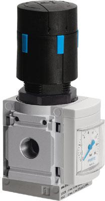 Регулятор давления Festo MS6-LRB-1/2-D7-AS
