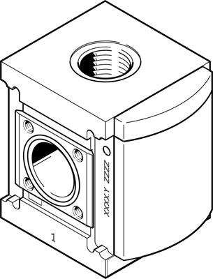 Модуль разветвления Festo PMBL-90-HP3