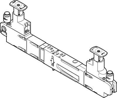 Блоки регуляторов Festo VABF-S4-2-R4C2-C-6E